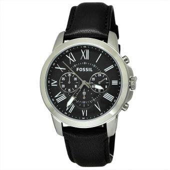 Harga Fossil Grant Black Watch FS4812