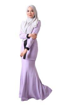 Harga Zolace Admirable Allure Baju Kurung Moden(Purple)