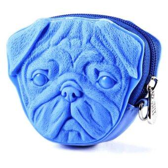 Harga Adamo Casual Light Blue Pug Dog