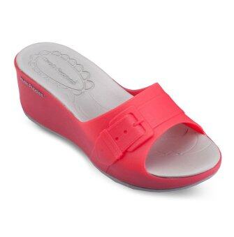 Harga Hush Puppies BLOOMING Sandals (Red)