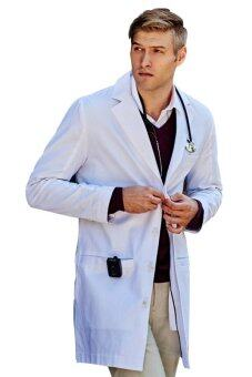 Harga Redpoll Lab Coat (White)