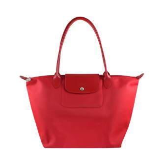 Harga Longchamp Planetes Long Handle Large LC016A (Red)