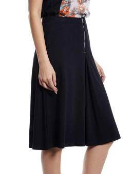 Harga Jazz & Co Women Midi Plain Skirts ( Black )
