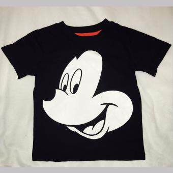 Harga Boys Short Sleeves Disney Mickey Tshirt