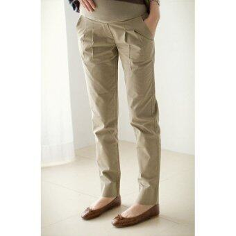 Harga Maternity Long Pants - Working Khaki