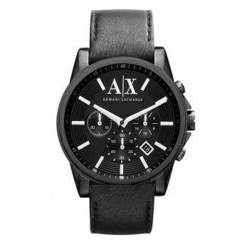 Harga Armani Exchange AX2098 Men's Smart Chronograph Black Ion Plated Watch