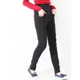 Harga Plus Size Maternity Pants - Lily Cotton Slim