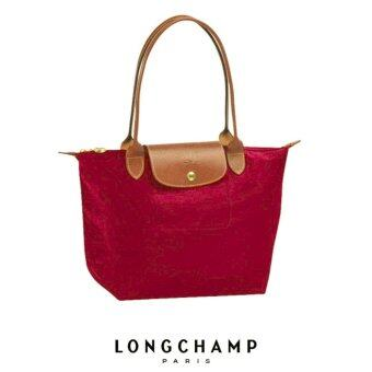 Harga LONGCHAMP LE PLIAGE TOTE 2605089 SMALL/LONG HANDLE (BORDEAUX)