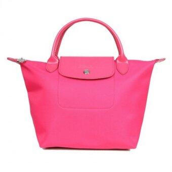 Harga Longchamp Planetes Short Handle Small LC014A (Pink)