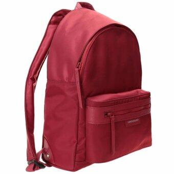 Harga Authentic Longchamp le pliage neo backpack(Red)