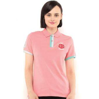 Harga Polo Haus - Polo Tee With Reindeer Embroidery (Pink)