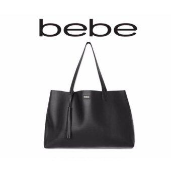 Harga BEBE BLACK FRIDAY FAUX LEATHER Solid TOTE BAG LIMITED EDITION