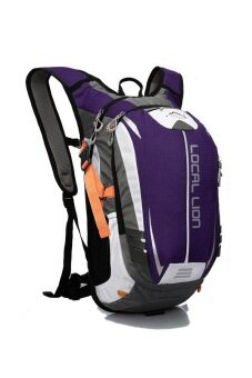 Harga Local Lion 18L Outdoor Travel Backpack- Purple