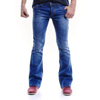 Harga Jazz & Co Men Mid Rise Bootcut Jeans ( Indigo)
