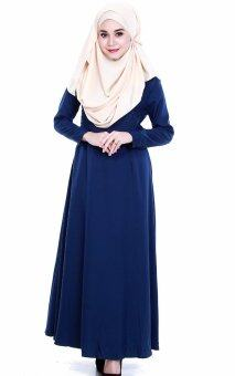 JF Fashion Delina Jubah Button C367 (Navy-Blue)