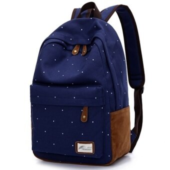 Junior high school students canvas shoulder bag handbag koreanversion of  the influx of college wind backpack 56f52b9957