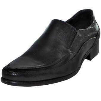 KASUT U Olympiss Polo 7002-01 Men Shoes • Kasut Lelaki / Formal shoes - Black • Warna Hitam