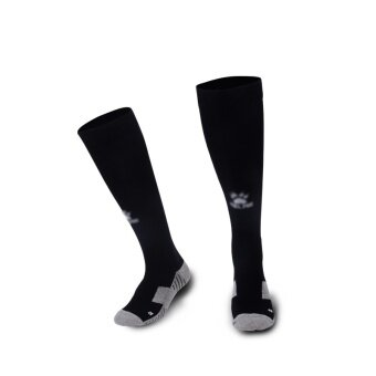 Kelme K15Z908 Men Wearable Antiskid Football Match Stockings (Black White)