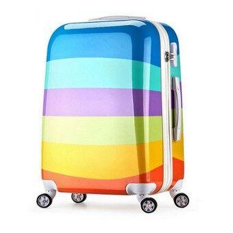 Korean Hard Case Travel Luggage - C