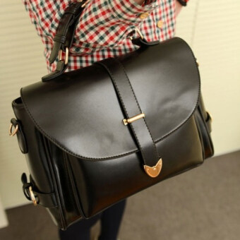 Harga Kstyle 901 Korean Casual Design Sling Bag (Black)