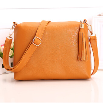 Harga Kstyle 907 Elegant Korean Casual Design Sling Bag (Brown)