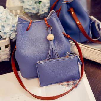 Harga Kstyle 9215 Korean Favorite Casual Design Sling Bag (Blue)