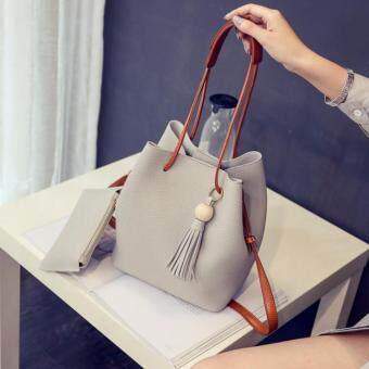 Harga Kstyle 9215 Korean Favorite Casual Design Sling Bag (Grey)