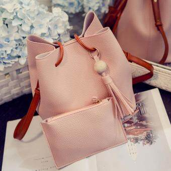 Harga Kstyle 9215 Korean Favorite Casual Design Sling Bag (Pink)