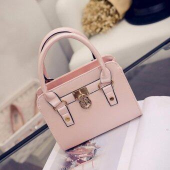 Harga Kstyle 928 Elegant Korean Casual Design CrossBody Sling Bag (Pink)