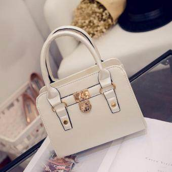Harga Kstyle 928 Elegant Korean Casual Design CrossBody Sling Bag (White)