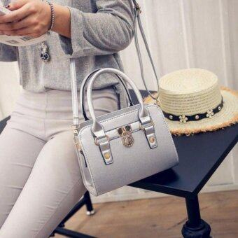 Harga Kstyle 928 Elegant Korean Casual Design CrossBody Sling Bag(Silver)