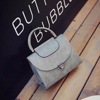 Harga Kstyle 930 Korean Favorite Casual Design CrossBody Sling Bag (Grey)