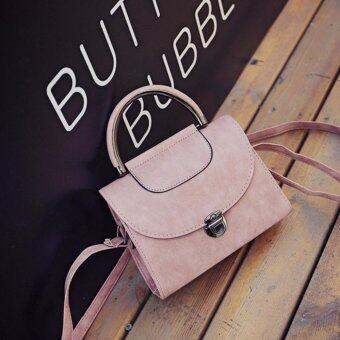 Harga Kstyle 930 Korean Favorite Casual Design CrossBody Sling Bag (Pink)