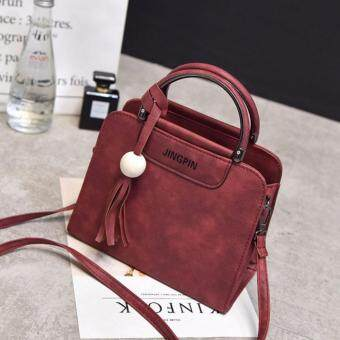 Harga Kstyle 932 Elegant Korean Casual Design CrossBody Sling Bag (Red)