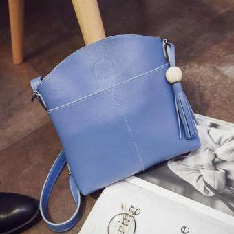 Harga Kstyle 933 Elegant Korean Casual Design CrossBody Sling Bag (Blue)