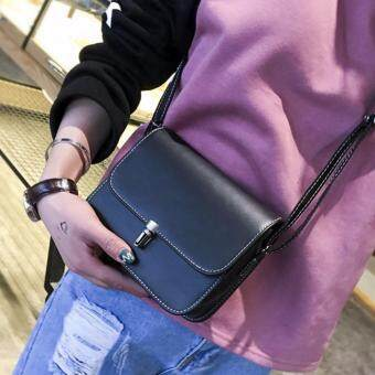 Harga Kstyle 935 Korean Favorite Casual Design CrossBody Sling Bag(Black)