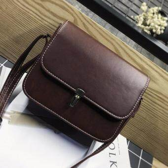 Harga Kstyle 935 Korean Favorite Casual Design CrossBody Sling Bag(Chocolate)