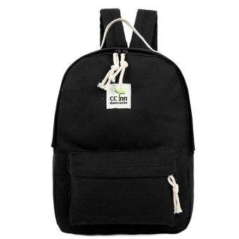 Harga Kstyle 956 Korean Selection Fashion Premium Travel Outing Backpack (Black)