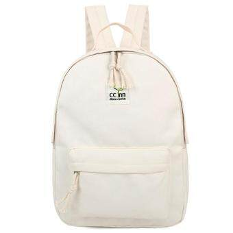 Harga Kstyle 956 Korean Selection Fashion Premium Travel Outing Backpack (White)