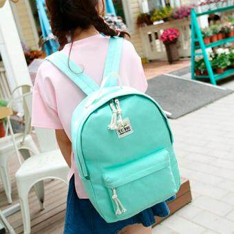 Harga Kstyle 956 Korean Selection Fashion Premium Travel Outing Backpack(Green)