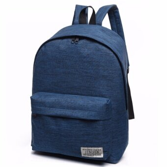 Harga Kstyle 957 Korean Selection Fashion Premium Travel Outing Backpack (Blue)