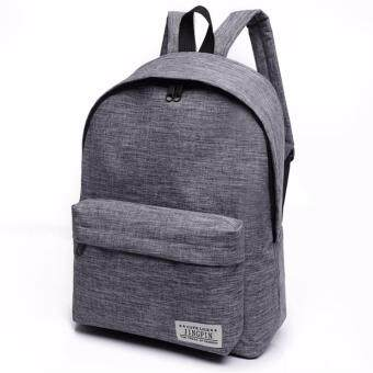 Harga Kstyle 957 Korean Selection Fashion Premium Travel Outing Backpack (Grey)