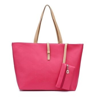 Harga Kstyle Fashion Tote Handbag and Purse (Pink)