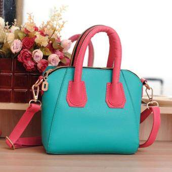 Harga Kstyle Korean Design Trendy Zipper Handbag (Sky Blue)