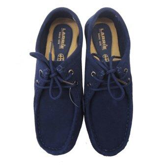 LARRIE Loafer Flat Casual Shoe Blue Color