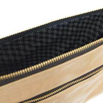 Latinas Genuine Leather Casual Sling Bag (Beige) - 4