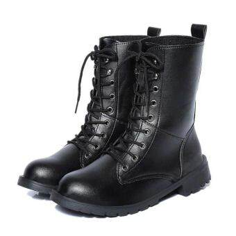LCFU764 New Fashion England Style Dr. Martin Boots Couple's MartinShoes Women Marten Dr Designer Motorcycle Boots - 2