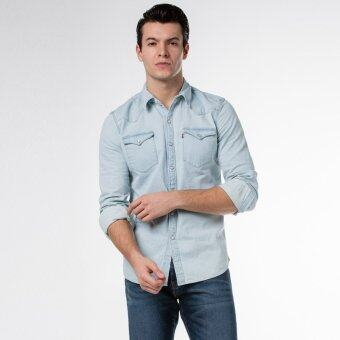 Levi's Barstow Western Shirt (blue)