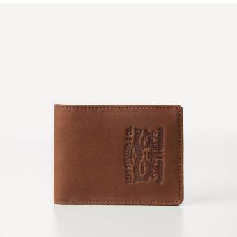Harga Levi's Denim Bifold Wallet (Brown)