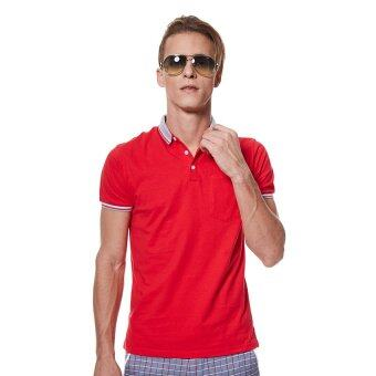 LZD Man Front Pocket Polo Tee